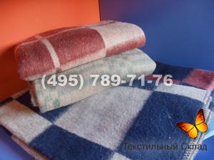 Одеяло 70% шерсти клетка